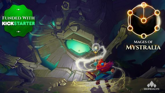 Screenshot of Mages of Mystralia Game