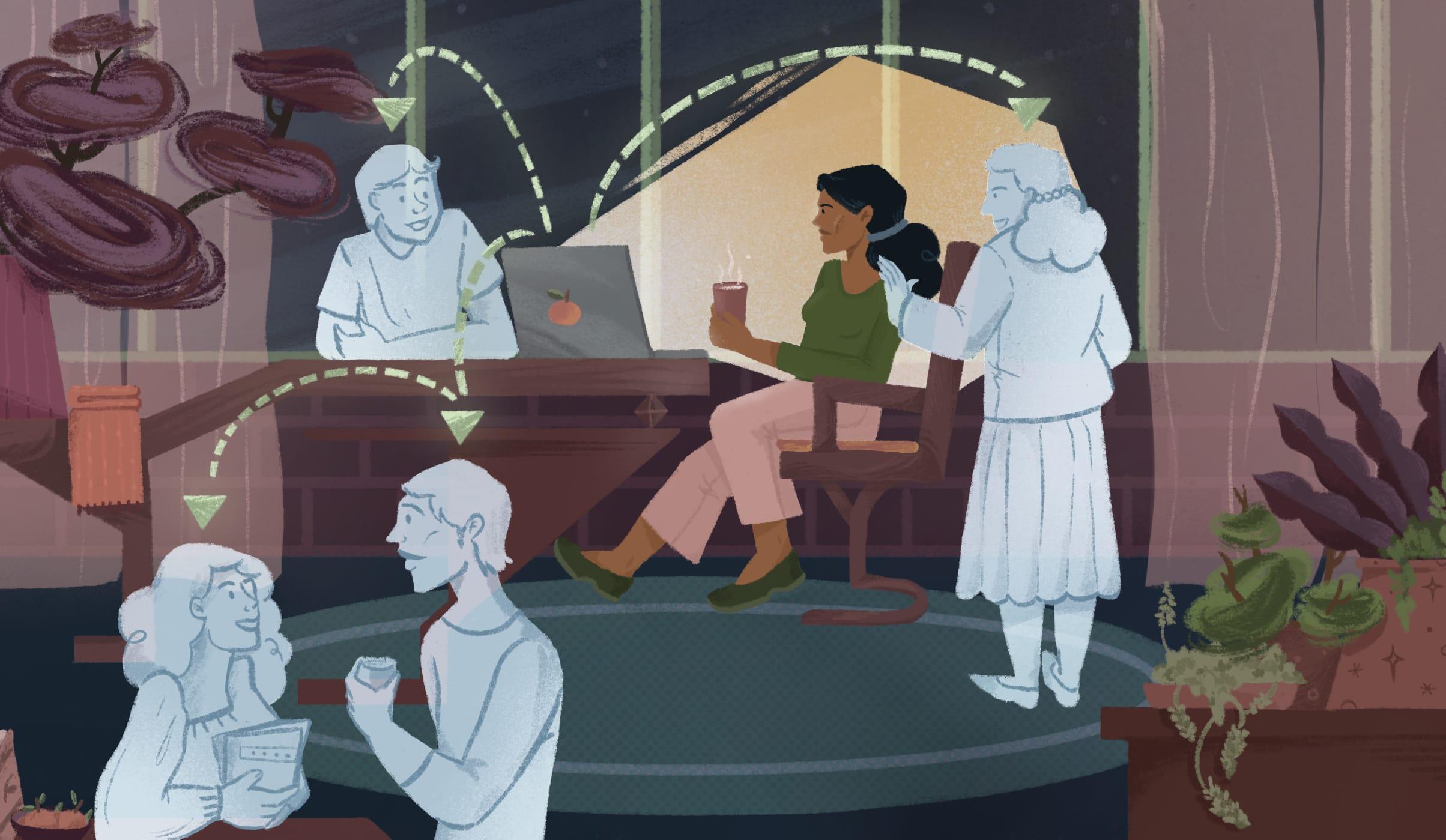 How Do We Become Social