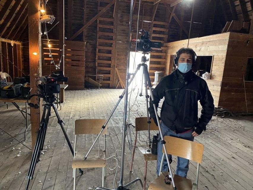 Darrin Qualman Devon Behind The Scenes
